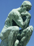 Thinker, by Rodin, Musee Rodin, Paris, France, Europe Photographic Print by Ken Gillham