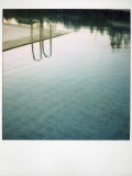 Polaroid of Swimming Pool with Reflections, Fez, Morocco, North Africa, Africa Photographic Print by Lee Frost