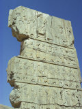 Frieze with King and Tribute, Persepolis, UNESCO World Heritage Site, Iran, Middle East Photographic Print by Jennifer Fry