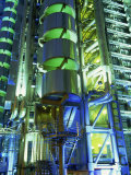 Lloyds Building at Night, City of London, London, England, United Kingdom, Europe Photographic Print by Lee Frost