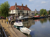 Cutter Inn, River Ouse, Ely, Cambridgeshire, England, United Kingdom, Europe Photographic Print by Ken Gillham