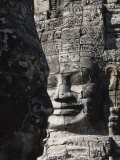 Bayon Temple, Late 12th Century, Buddhist, Angkor Thom, Angkor, Siem Reap, Cambodia, Southeast Asia Photographic Print by Robert Harding