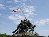 Iwo Jima Memorial, Arlington, Virginia, United States of America, North America Photographic Print by Robert Harding