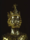 Charlemagne, Dating from around 1350, Aachen, Germany, Europe Photographic Print by Christina Gascoigne