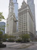 Wrigley Building, North Michigan Avenue, the Magnificent Mile, Chicago, Illinois, USA Photographic Print by Amanda Hall