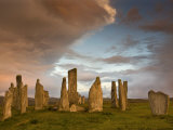 Standing Stones of Callanish at Dawn, Callanish, Near Carloway. Isle of Lewis, Scotland, UK Photographic Print by Lee Frost