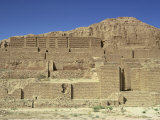 Ziggurat Dating from 1250 BC, Choga Zanbil, Iran, Middle East Photographic Print by Jennifer Fry