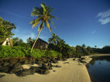 Coastline, Taakoka Island, Rarotonga, Cook Islands, Pacific Islands, Pacific Photographic Print by Dominic Harcourt-webster