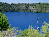 Blue Lake, One of Three Crater Lakes at the Top of Mount Gambier, South Australia, Australia, Photographic Print