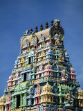 Close-Up of an Ornate Hindu Temple in Nadi on the Island of Viti Levu, Fiji, Pacific Photographic Print by Robert Francis