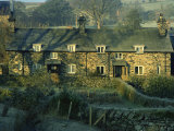 Typical Welsh Cottages, Ysbyty Ifan, Gwynedd, Wales, United Kingdom, Europe Photographic Print by Lee Frost