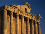 Roman Temple of Bacchus, Baalbek, UNESCO World Heritage Site, Lebanon, Middle East Photographic Print by Fred Friberg