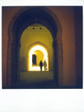 Polaroid Image Taken in Granaries of Moulay Ismail, Meknes, Morocco, North Africa, Africa Photographic Print by Lee Frost
