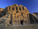 Obelisk Tomb and Bab Es-Siq Tricinium Tomb, Petra, UNESCO World Heritage Site, Jordan, Middle East Photographic Print by Fred Friberg