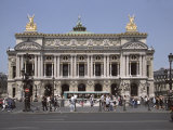 Opera Garnier, Paris, France, Europe Photographic Print by James Gritz
