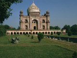 Moghul Tomb Dating from the 18th Century, Delhi, India Photographic Print by Christina Gascoigne