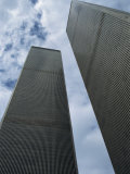 World Trade Center Twin Towers, Destroyed 11 September 2001, Manhattan, New York City, USA Photographic Print by Fraser Hall