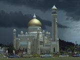 Sultan Omar Ali Saifuddin Mosque, Completed 1958, Bandarseribeg, Brunei, Borneo, Southeast Asia Photographic Print by Ursula Gahwiler