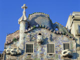 Casa Batllo, a Gaudi House, in Barcelona, Cataluna, Spain, Europe Photographic Print by Nigel Francis