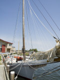 Skipjack Sailing Boat, Chesapeake Bay Maritime Museum, St. Michaels, Maryland, USA Photographic Print by Robert Harding