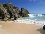 South Coast Beach, Bermuda, Atlantic Ocean, Central America Photographic Print by Robert Harding