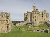Warkworth Castle, Northumbria, England, United Kingdom, Europe Photographic Print by James Emmerson