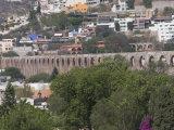 Amazing Aqueduct, Queretaro, Queretaro State, Mexico, North America Photographic Print by Robert Harding