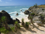 South Coast Beach, Bermuda, Atlantic Ocean, Central America Photographic Print by Robert Harding