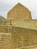Temple of the Sun, Ingapirca, Canar Province, Southern Highlands, Ecuador, Photographic Print