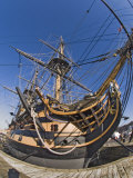 Hms Victory, Portsmouth Historical Dockyard, Portsmouth, Hampshire, England, UK Photographic Print by James Emmerson