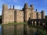 Herstmonceux Castle, Sussex, England, United Kingdom, Europe Photographic Print by Ian Griffiths