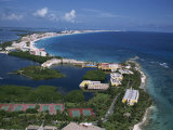 Hotel Area of Cancun, Cancun, Yucatan, Mexico, North America Photographic Print by Robert Harding