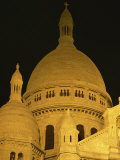 Dome of the Basilique Du Sacre-Coeur, Montmartre, Paris, France, Europe Photographic Print by Robert Francis
