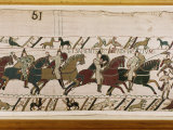 Bayeux Tapestry, Normandy, France, Europe Fotografie-Druck von Robert Harding
