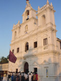 Church of the Immaculate Conception, Panaji, Goa, India Photographic Print by Alain Evrard