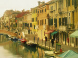 Houses on Canalside, the Ghetto, Venice, Veneto, Italy, Europe Photographic Print by Lee Frost
