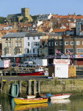 Seafront of Scarborough, North Yorkshire, England, UK Photographic Print by Robert Francis