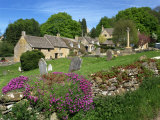 Cemetery at the Small Village of Snowhill, in the Cotswolds, Gloucestershire, England, UK Photographic Print by Nigel Francis