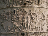 Detail of Trajan's Column, Rome, Lazio, Italy, Europe Photographic Print by Christina Gascoigne