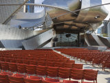 Jay Pritzker Pavilion Designed by Frank Gehry, Millennium Park, Chicago, Illinois, USA Photographic Print by Amanda Hall