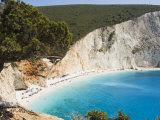 Porto Katsiki Beach, West Coast of Lefkada, Ionian Islands, Greek Islands, Greece, Europe Photographic Print by Robert Harding