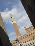 Palazzo Pubblico, the Torre Del Mangia, Piazza Del Campo, Siena, Tuscany, Italy Photographic Print by Robert Harding