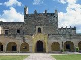 Iglesia De San Bernardino De Siena, Valladolid, Yucatan, Mexico, North America Photographic Print by Harding Robert