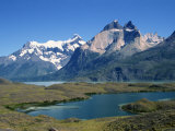 Lake Nordenskjold in the Torres Del Paine National Park in Chile, South America Photographic Print by Ken Gillham