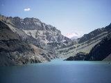 Karaj Dam Lake, Iran, Middle East Photographic Print by Robert Harding