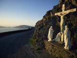 Calvary of Christ Roadside Shrine, Slea Head, County Kerry, Munster, Republic of Ireland, Europe Photographic Print by Dominic Harcourt-webster