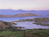 Derrynane Bay at Sunset, Ring of Kerry, County Kerry, Munster, Republic of Ireland, Europe Photographic Print by Patrick Dieudonne