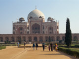 Humayun's Tomb, Completed in 1573, the Forerunner of the Taj Mahal, Delhi, India Photographic Print by Harding Robert