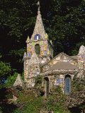 Decorated Little Chapel, Guernsey, Channel Islands, United Kingdom, Euruope Photographic Print by Tim Hall