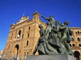 Statue in Front of the Bullring in the Plaza De Toros in Madrid, Spain, Europe Photographic Print by Nigel Francis